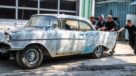 Misfit Garage - Jazzed About A '57 Gasser