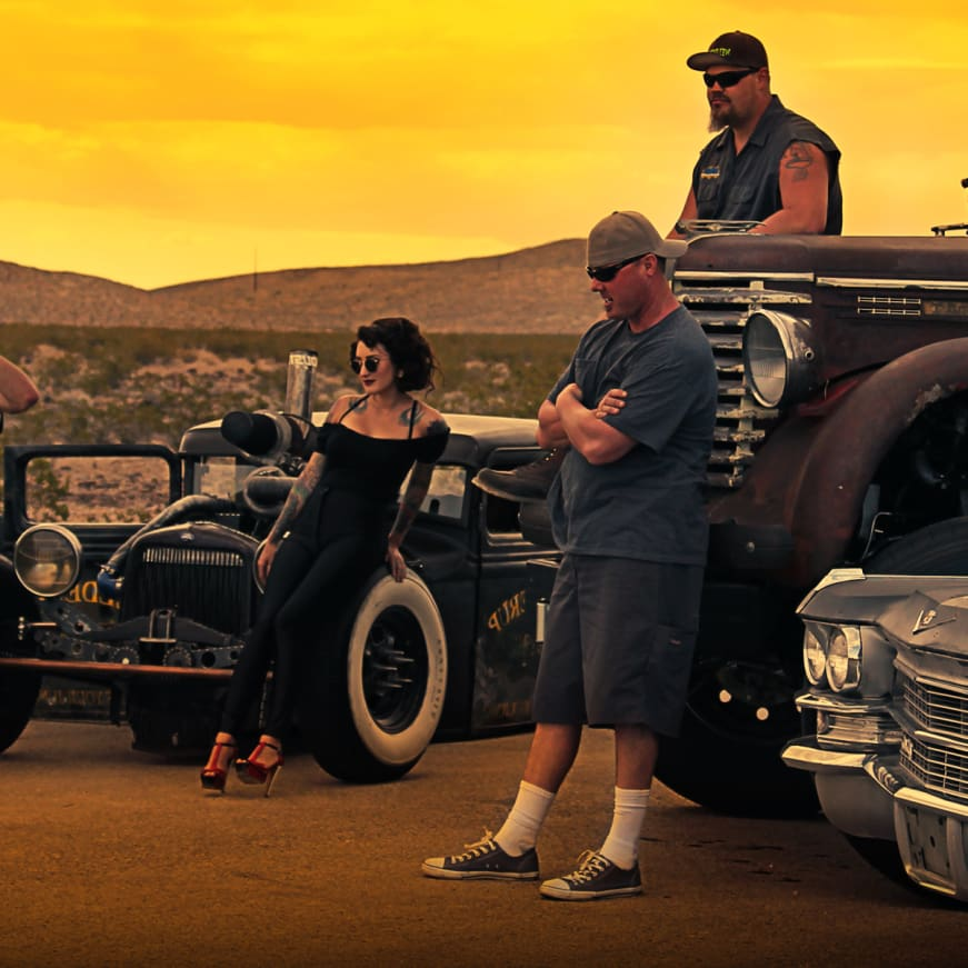Vegas Rat Rods