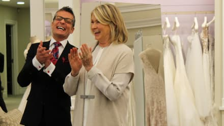 Say Yes to the Dress - What does Martha think? - Guest Star Martha Stewart
