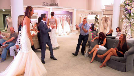 Say Yes to the Dress - Dad's being a Dadzilla