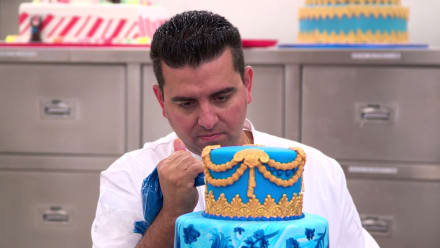 Cake Boss - Mary Models, Toys and Turkish Marbling