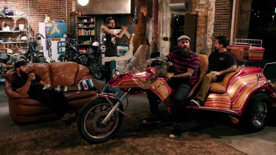 Sacred Steel Bikes - The Trike- Part I