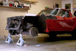 Garage Squad - 63 Corvette