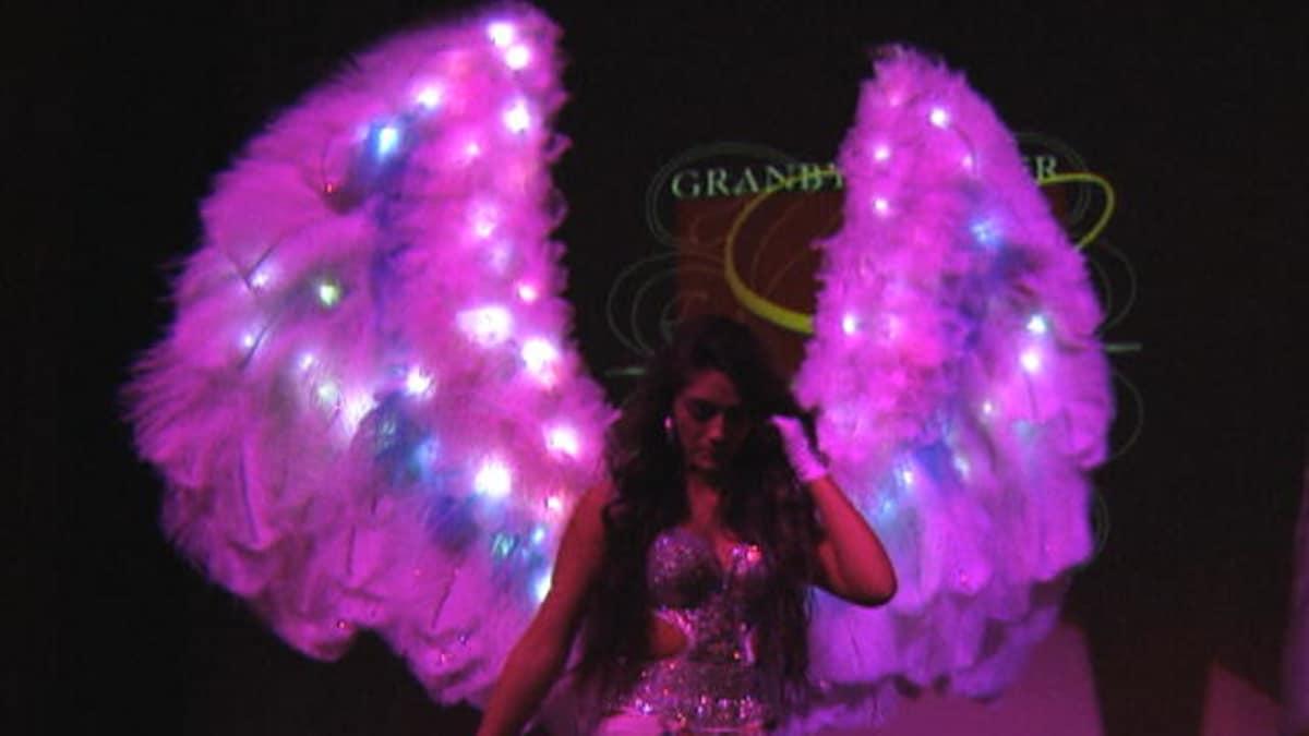 Giant Blinged Wings My Big Fat American Gypsy Wedding Tlc