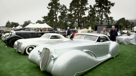 Restoration Garage - Delahaye Fever