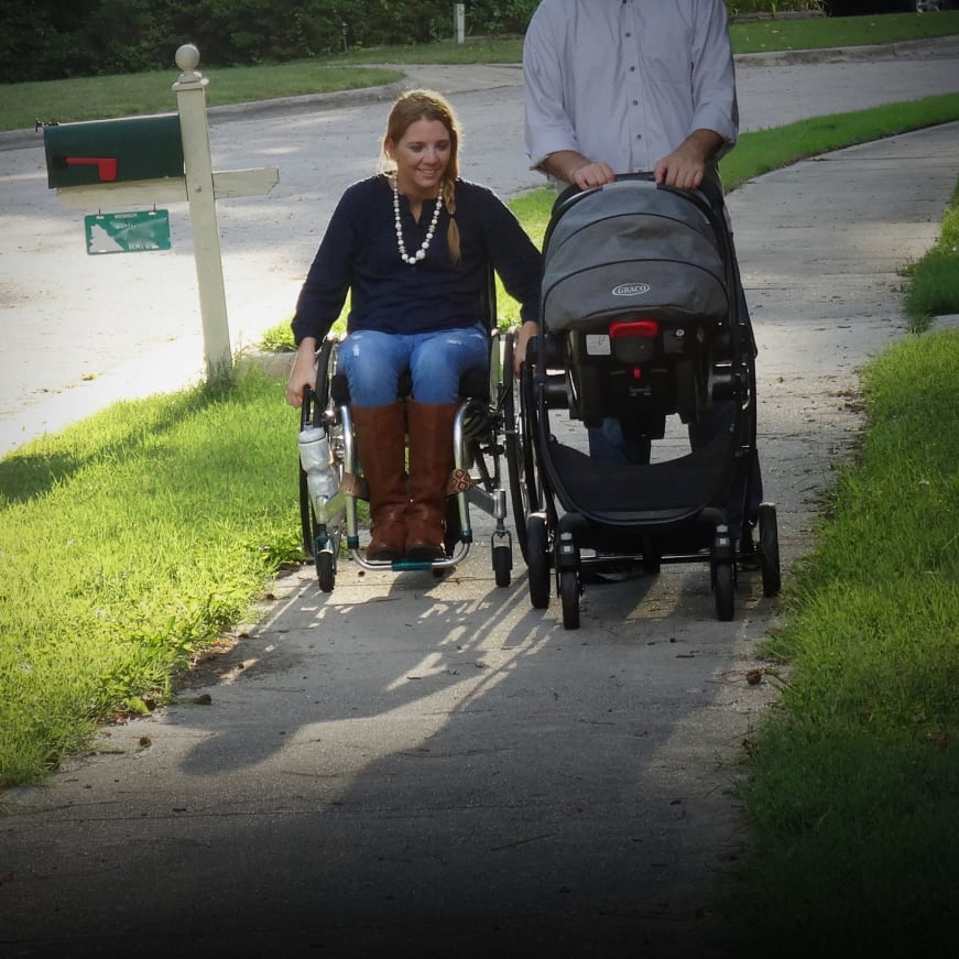 Rattled: A Paralyzed Mother's Story