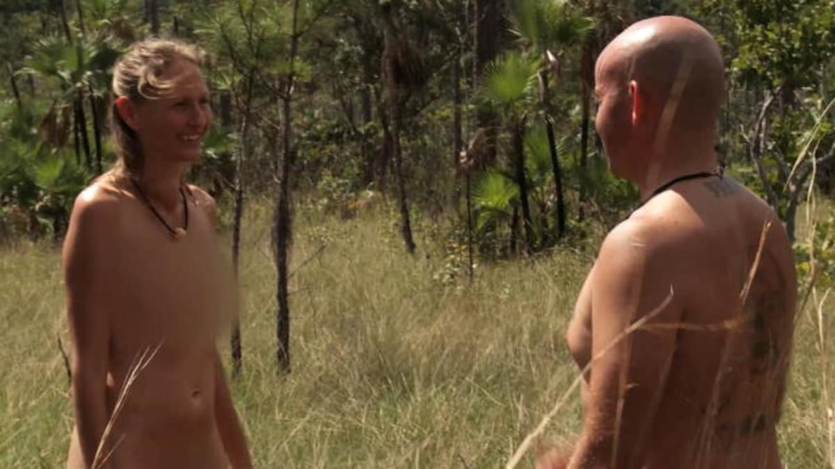 Naked and afraid laura s ass, fairytale pussy