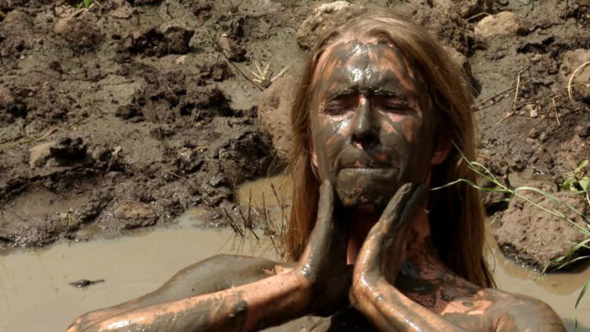 Naked Mud Bath