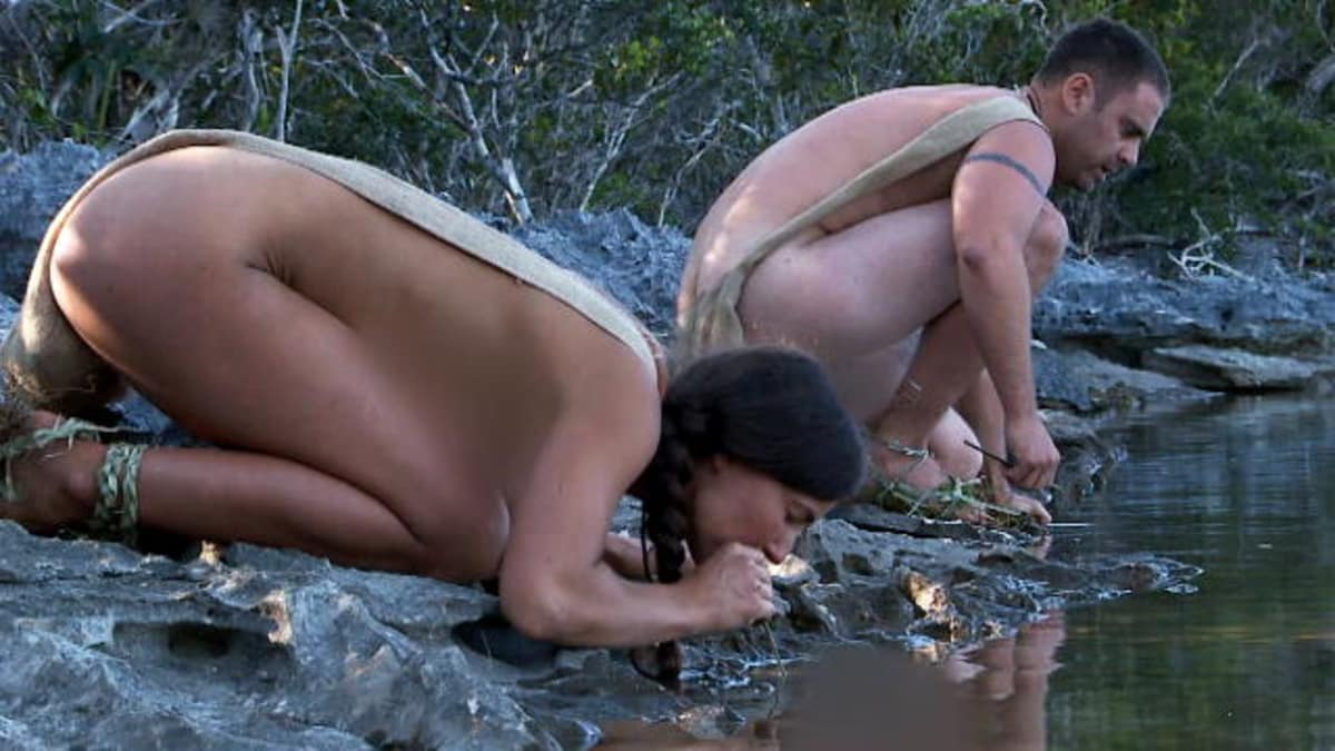 Alison teal naked and afraid