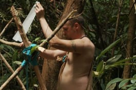 Naked and Afraid - Trenchfoot on My Johnson (NSFW)