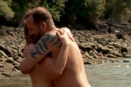 Naked and Afraid - Naked Hug In Panama