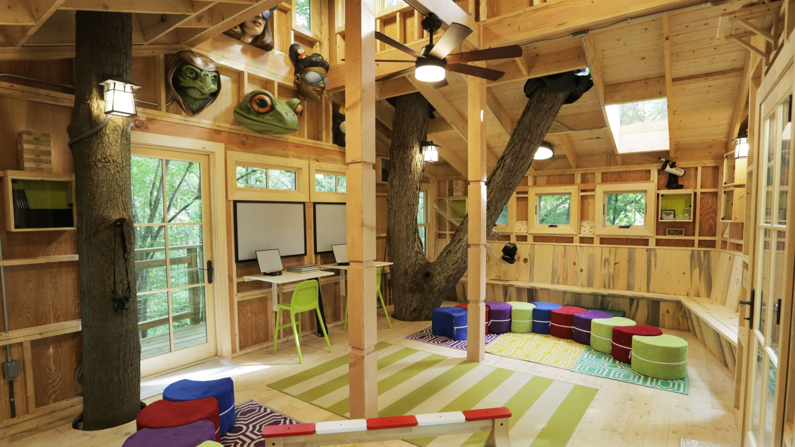 10 Treehouses that Will Delight the Child in You
