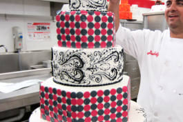 Cake Boss - Cut the Ribbon and the Cake!