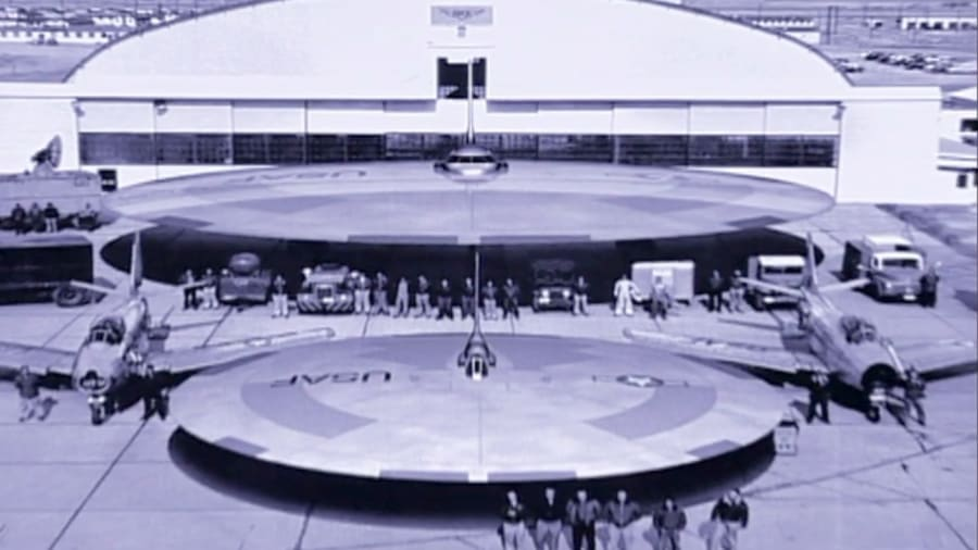 Lost UFO Files - Hangar 18: The UFO Warehouse