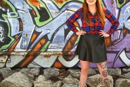 Tattoo Girls - The Hairy Wolf Tattoo