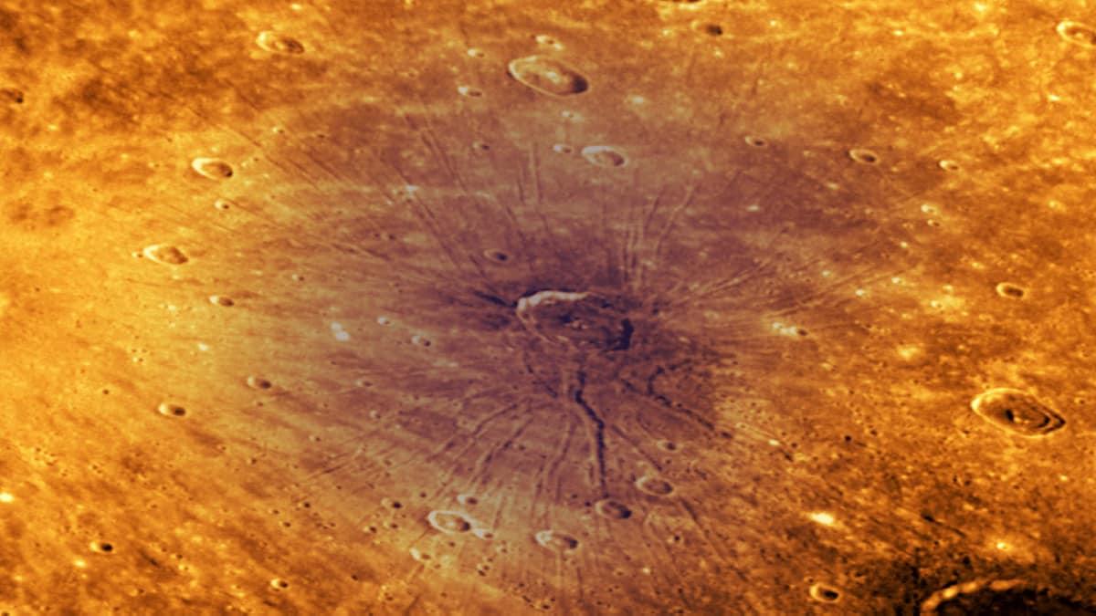 Mercury's Spider