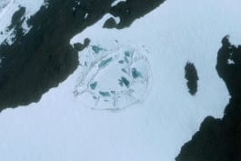 What on Earth? - A Strange Oval has been Spotted in Antarctica