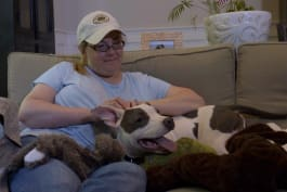 Pit Bulls & Parolees - The Puppy Formerly Known as Prince Finds a Home