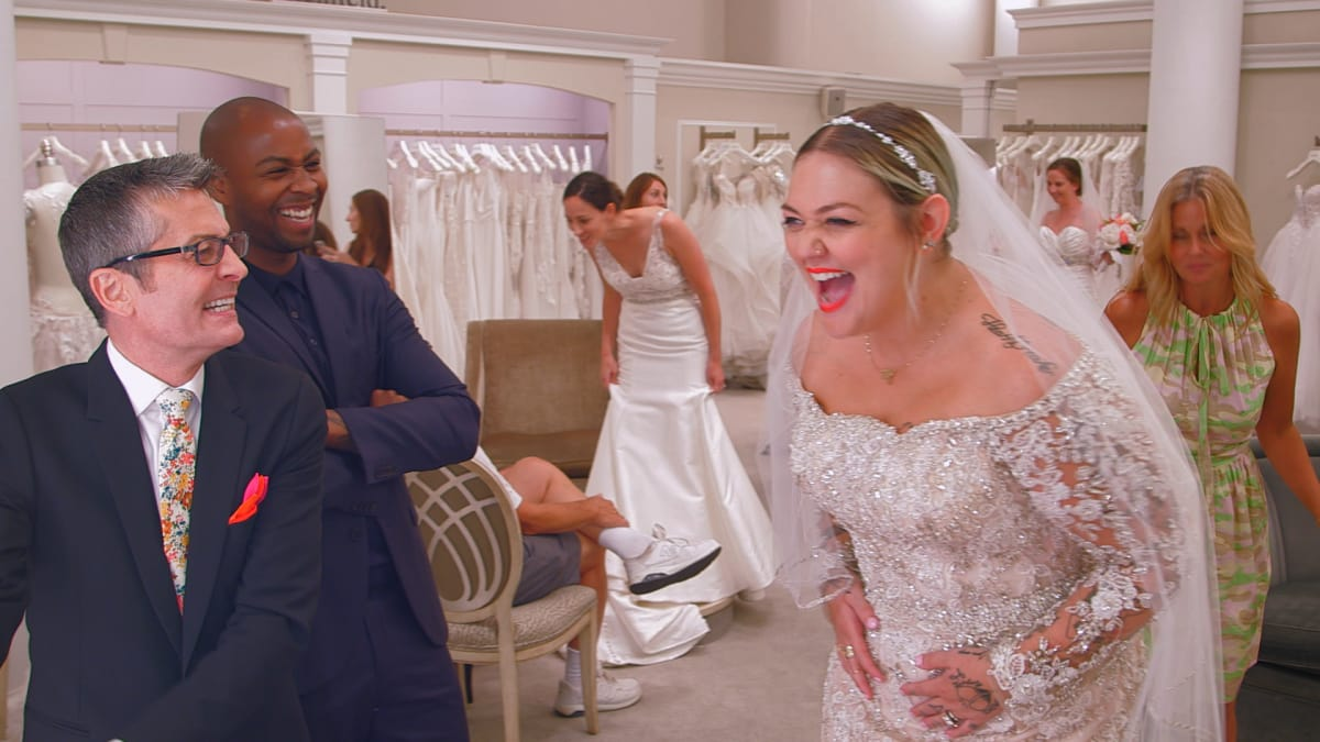 Elle King Says Yes To Her Dress Say Yes To The Dress Tlc