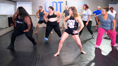 whitney my big fat fabulous life dance battle