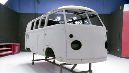 Inside West Coast Customs - Steampunk VW