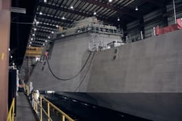 Impossible Engineering - The USS Indepedence is the Navy's first high-performance trimaran combat ship