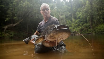 River Monsters - Malaysian Lake Monster