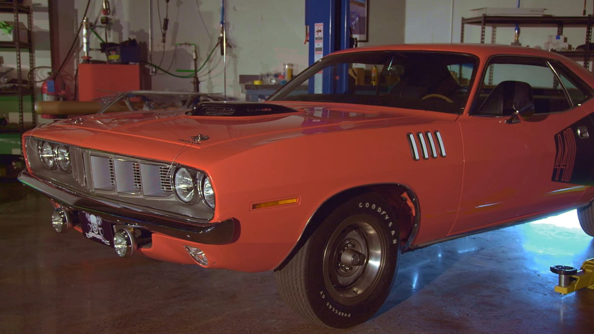 71 Phantom 'Cuda Resurrected - Graveyard Carz | MotorTrend