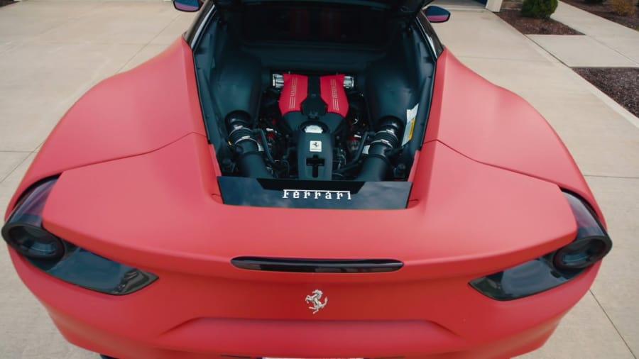 The Auto Firm with Alex Vega - Carlos Carrasco's Ferrari 488