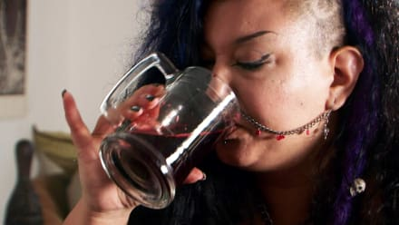 My Strange Addiction on DLF - Y is for Years of Drinking Blood