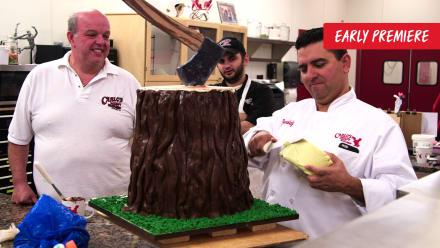 Cake Boss - Lumber Jacks And Giving Back