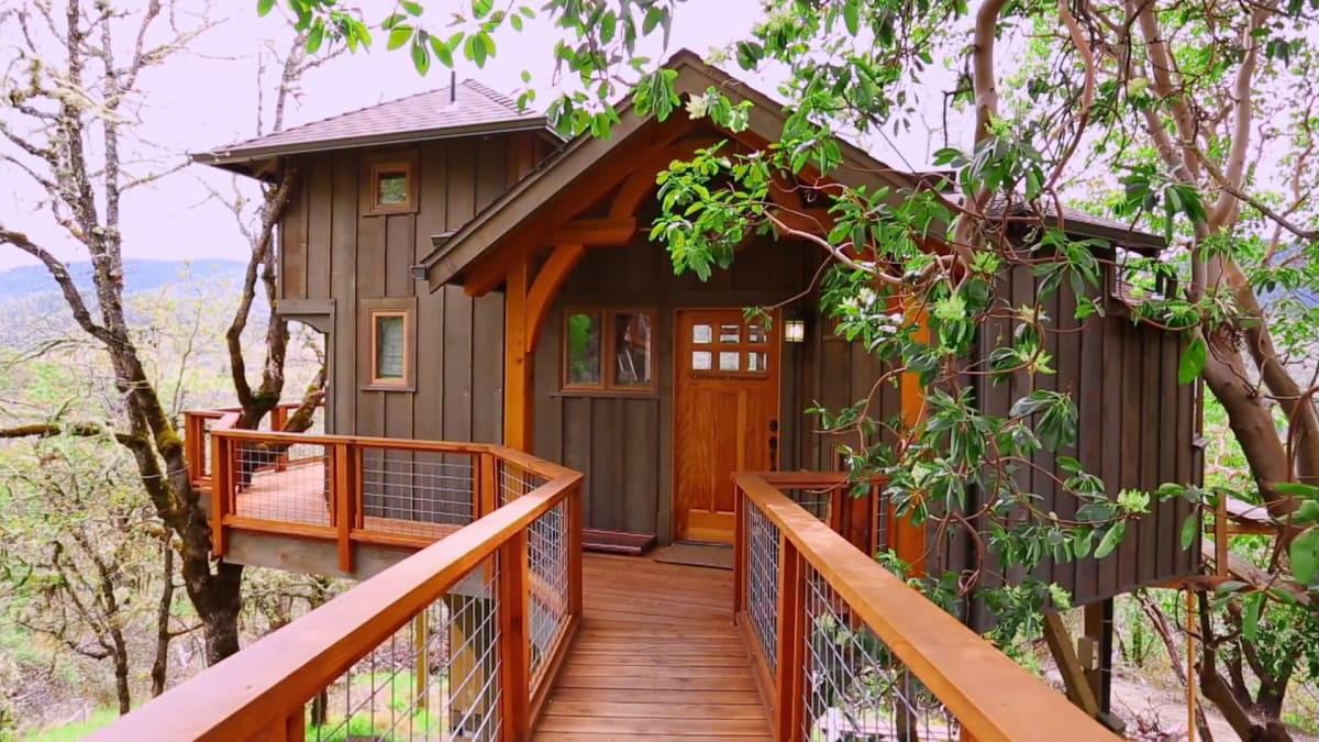Backyard Bungalow | Treehouse Masters