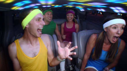 Cash Cab - You've Got to Burn it to Earn it