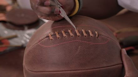 How It's Made - Leather Basketballs, Flood Gates, Wood Panel Canvases, and Shoelaces