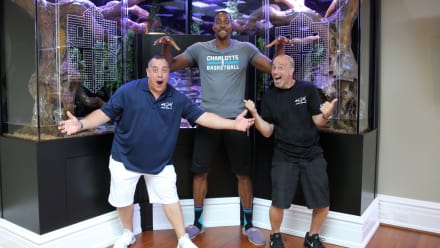 Tanked - Dwight Howard's Slamming Snake Tank- Supersized