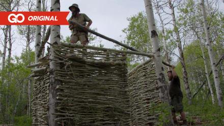 Bushcrafting's Best - Jason Staker's Animal Protection Shelter