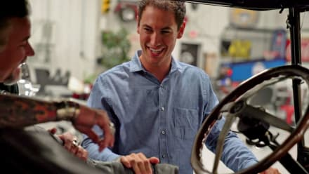Fast N' Loud - Duramax Muscle, Aphicars and Model Ts: Inside Joey Logano's Auto Fleet