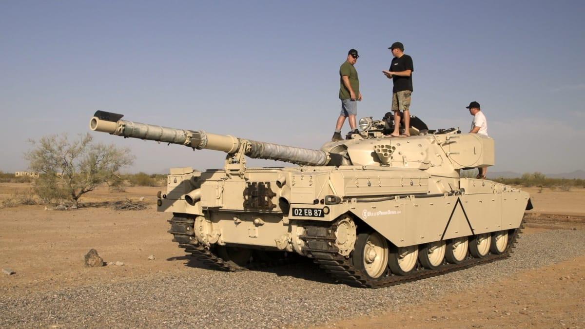 Tank Cruisin' - Roadkill   MotorTrend