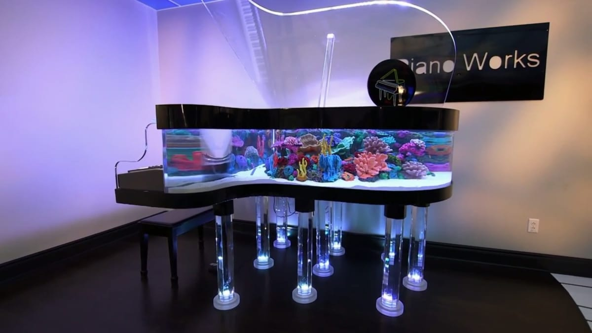 The Amazing Piano Tank Tanked