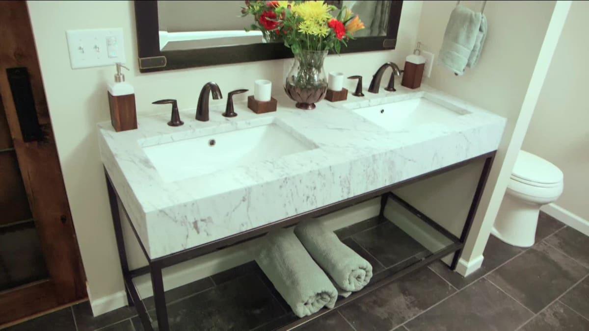 Concrete and Sauna | Bath Crashers