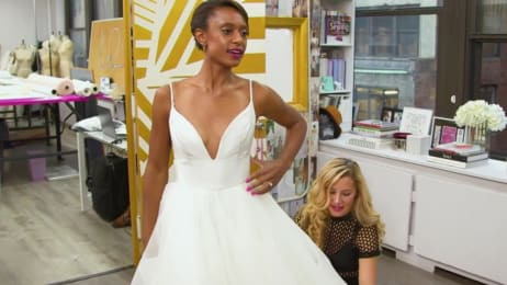 16b09b276bf Behind the Seams: A Dress to Impress her Famous Family | Say Yes to ...